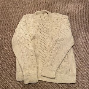 Men's fishermen's sweater vintage